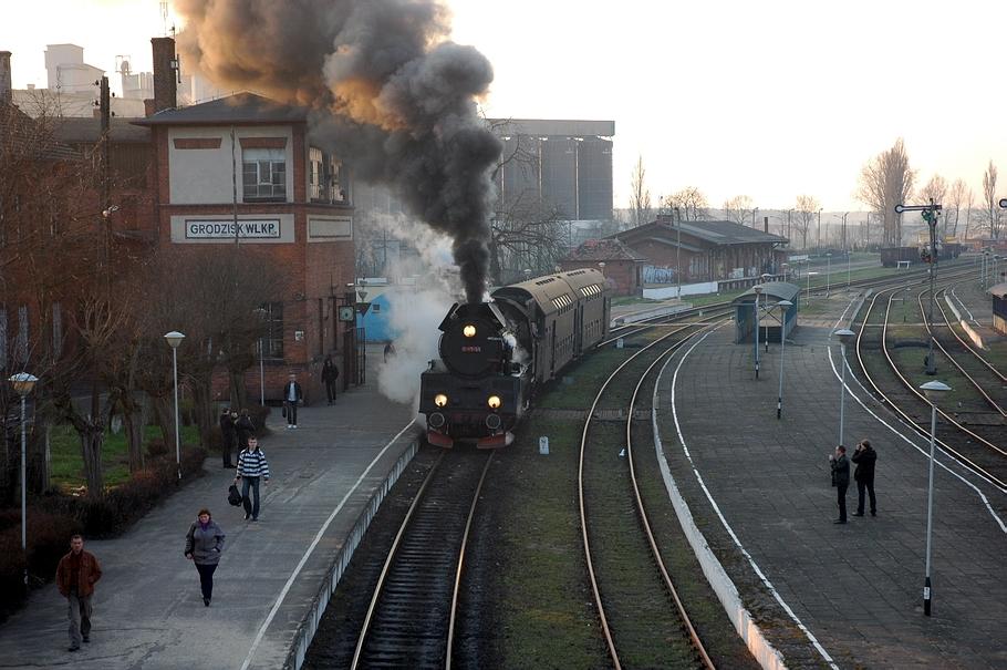 Stacja kolejowa Grodzisk Wielkopolski
