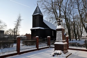 wooden church in poland