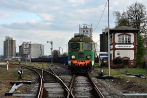 Pociąg towarowy Grodzisk Wlkp.